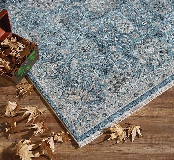 Light Blue (6883-500) Traditional / Oriental Area Rug
