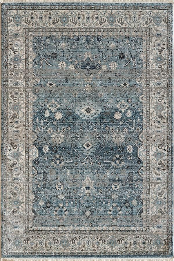 Light Blue (6881-500) Traditional / Oriental Area Rug