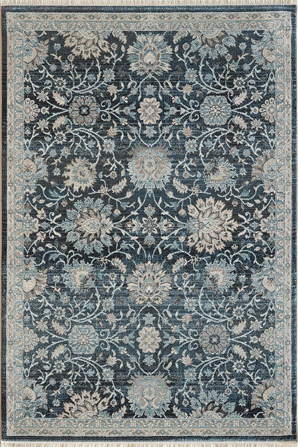 Blue (6883-550) Traditional / Oriental Area Rug