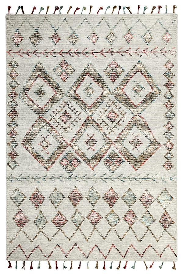 Ivory (199) Bohemian Area Rug