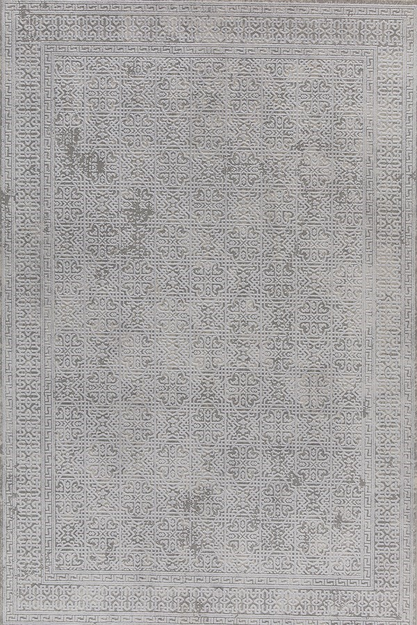 Ivory (100) Damask Area Rug