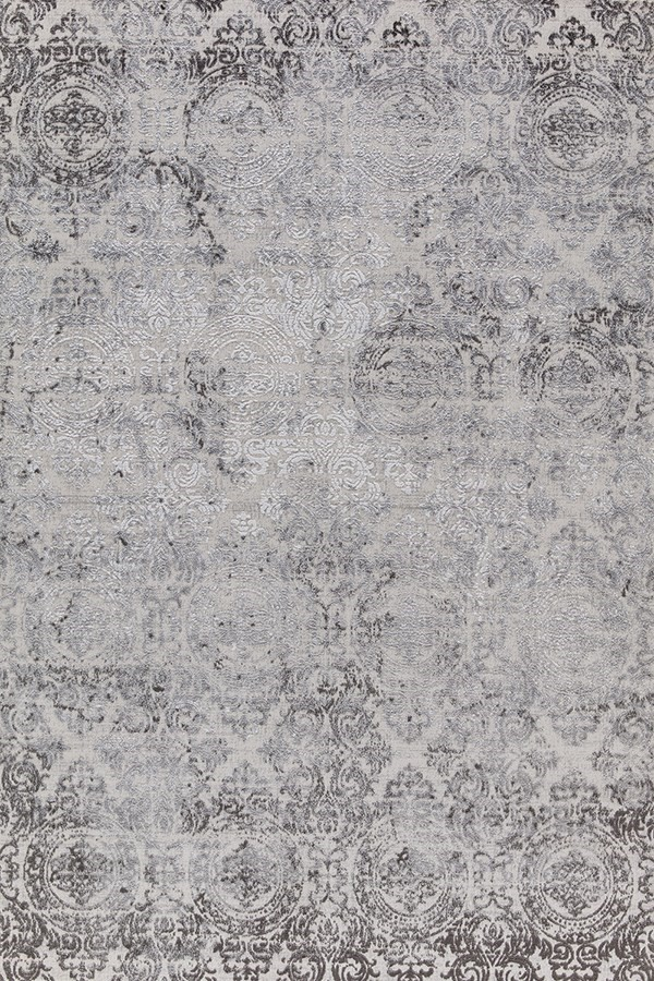 White (100) Mandala Area Rug