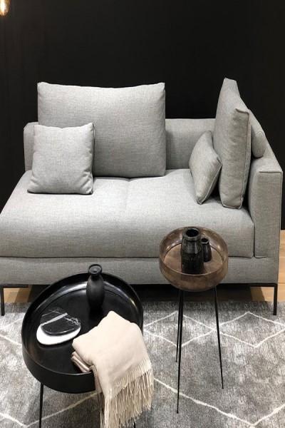 Grey, Ivory (4262) Moroccan Area Rug