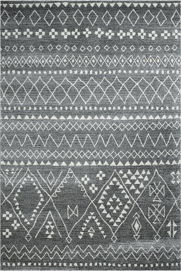 Grey, Ivory (4262) Southwestern / Lodge Area Rug