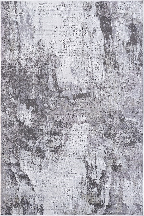 Grey (900) Abstract Area Rug