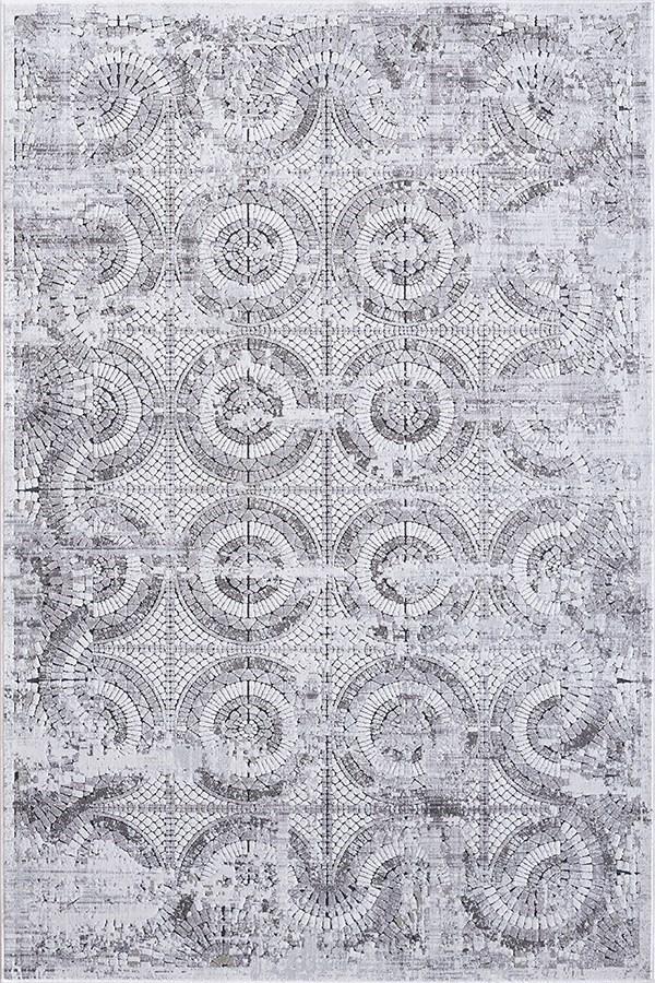 Grey (900) Mandala Area Rug