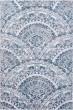 Product Image of Cream, Grey, Blue (115) Mandala Area Rug