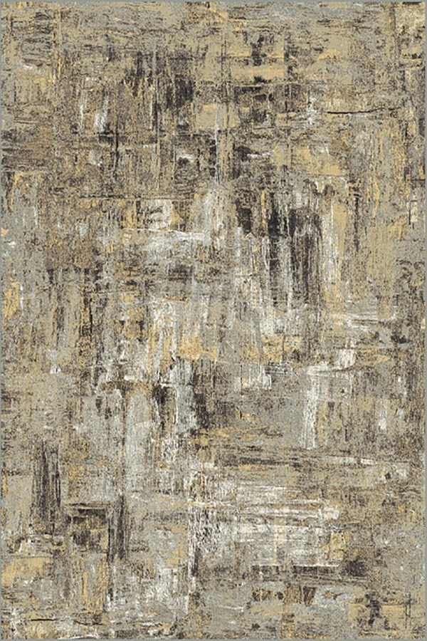 Taupe (5220) Abstract Area Rug