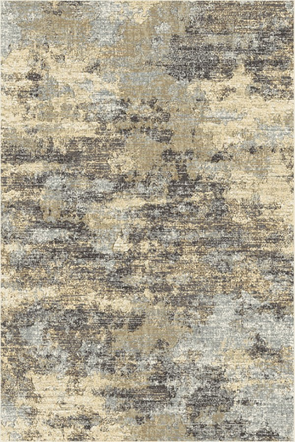 Taupe, Cream (6220) Abstract Area Rug