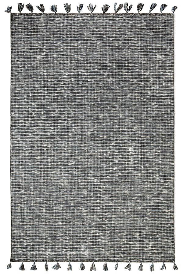 Charcoal (990) Rustic / Farmhouse Area Rug