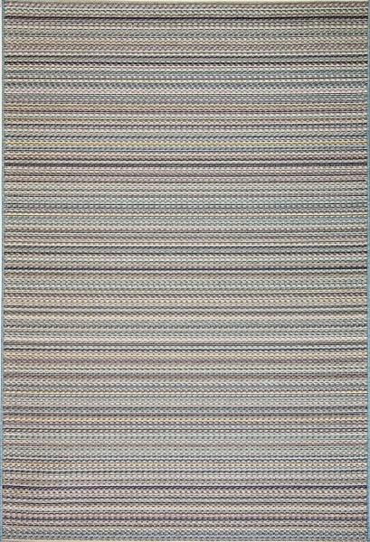 Blue (5025) Striped Area Rug