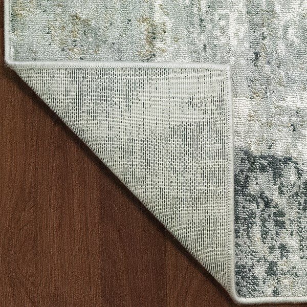 Ivory (100) Abstract Area Rug