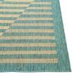 Product Image of Natural, Aqua (850) Outdoor / Indoor Area Rug