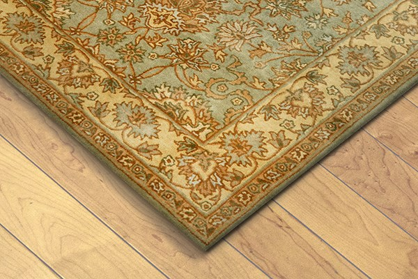 Green (9069-04) Traditional / Oriental Area Rug