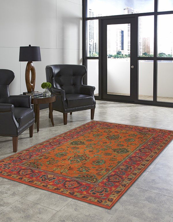 Mandarin (9054-17) Traditional / Oriental Area Rug