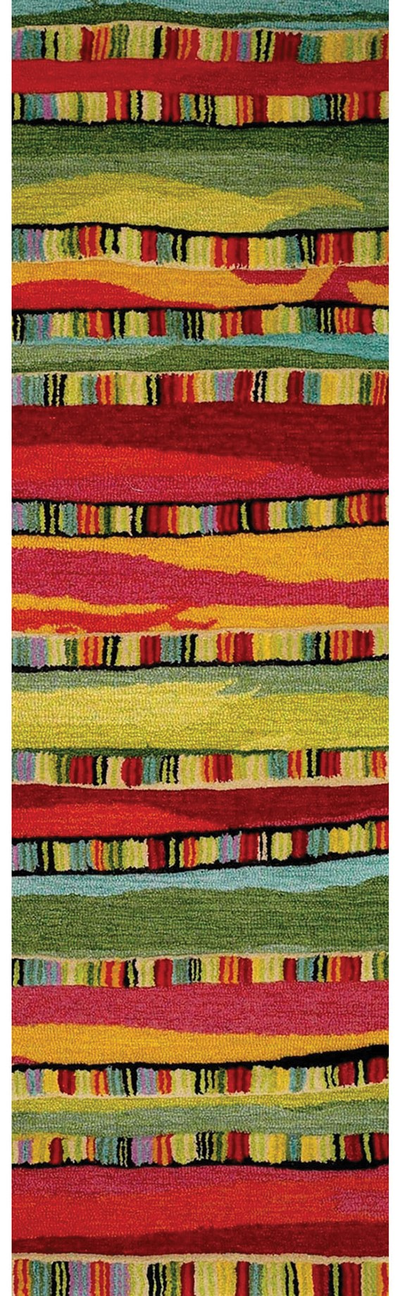 Fiesta (9625-24) Striped Area Rug