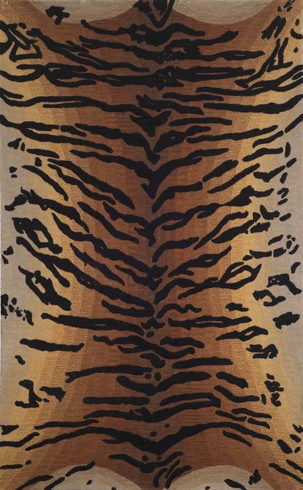 Brown (9644-19) Animals / Animal Skins Area Rug