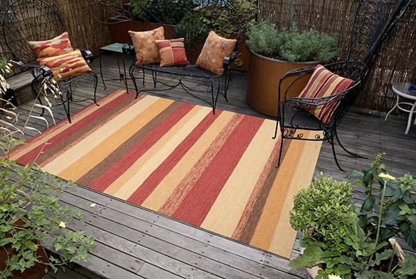Red (1900-24) Outdoor / Indoor Area Rug