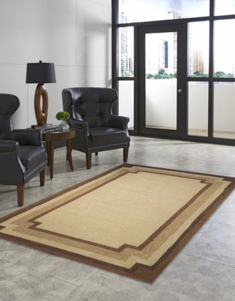 Natural (1905-12) Solid Area Rug