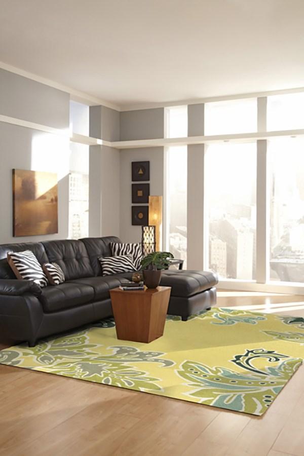 Yellow (1947-09) Outdoor / Indoor Area Rug