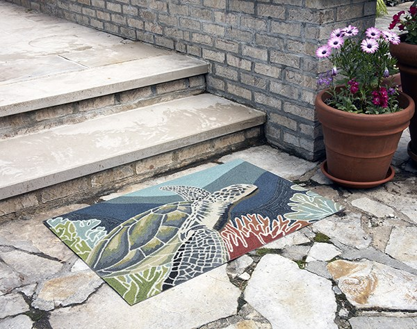 Ocean (2257-04) Outdoor / Indoor Area Rug