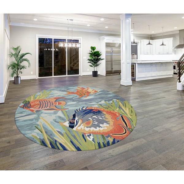 Ocean (2255-04) Outdoor / Indoor Area Rug