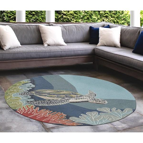 Ocean (2257-04) Outdoor / Indoor Area Rug