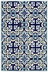 Product Image of Navy (2253-33) Moroccan Area Rug
