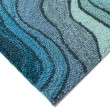 Product Image of Blue, Navy, Sage (2267-03) Contemporary / Modern Area Rug