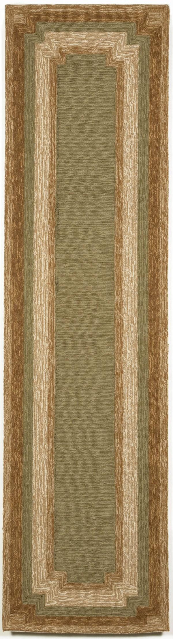 Green (1905-06) Bordered Area Rug