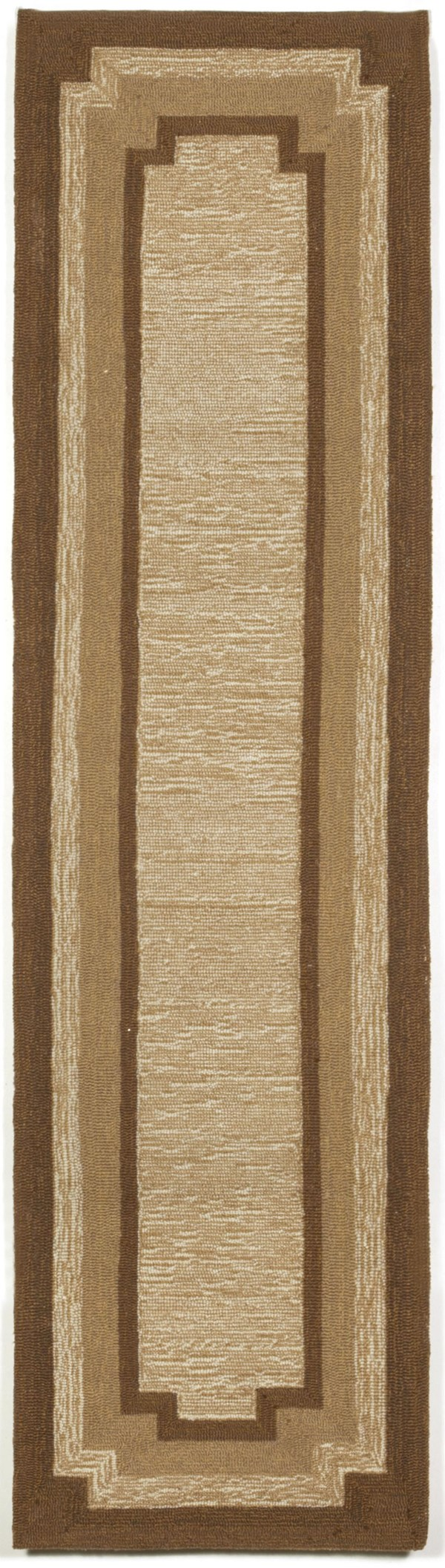 Natural (1905-12) Bordered Area Rug