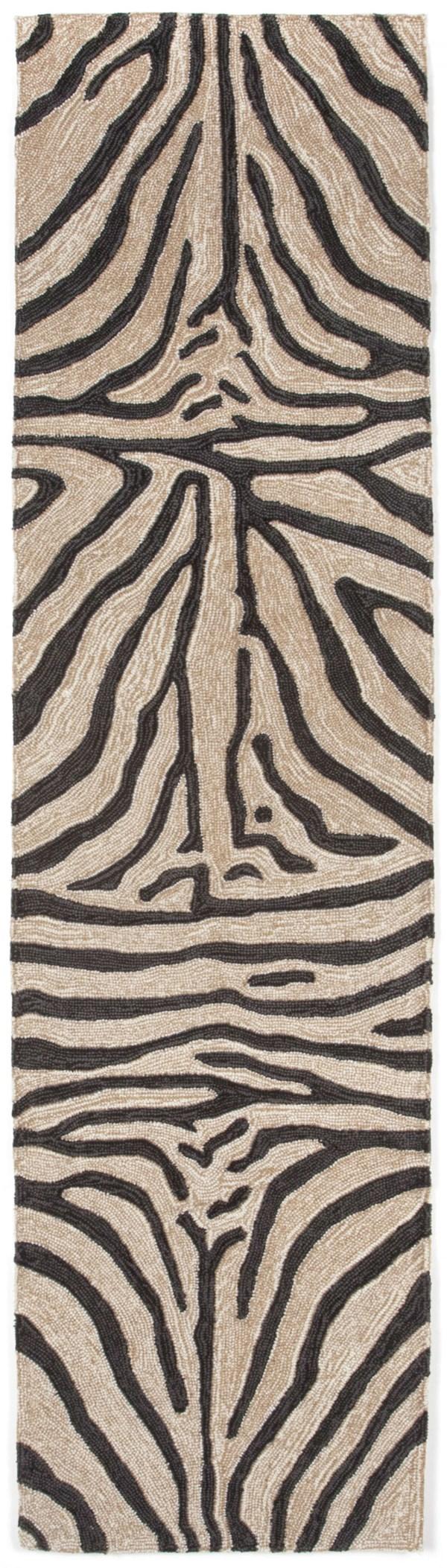 Black (2033-48) Contemporary / Modern Area Rug