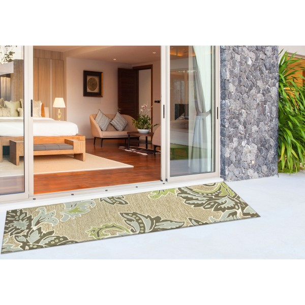 Green (1947-04) Outdoor / Indoor Area Rug