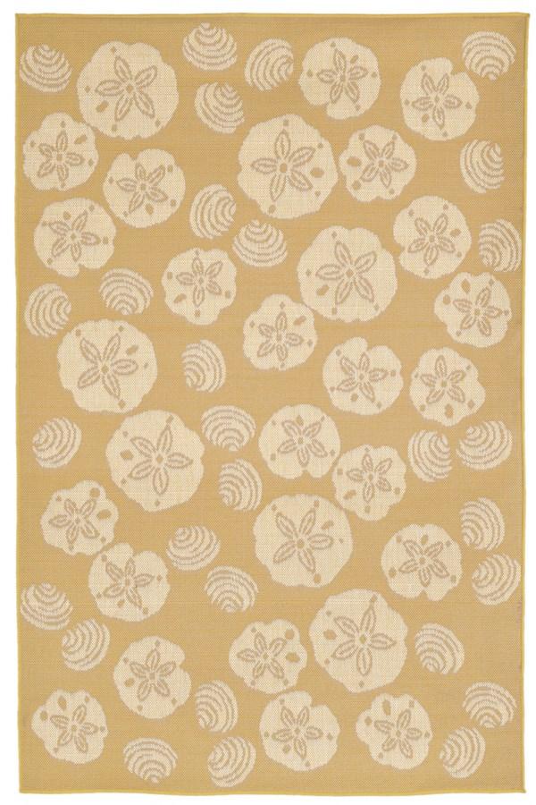 Almond (1790-22) Outdoor / Indoor Area Rug