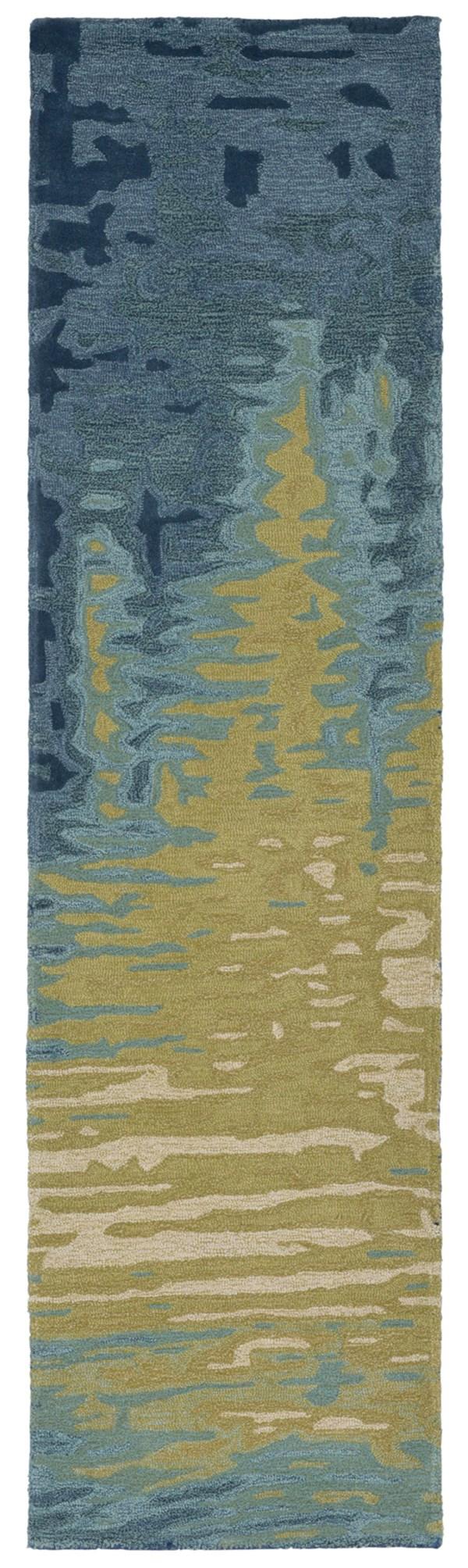 Ocean (9143-04) Abstract Area Rug