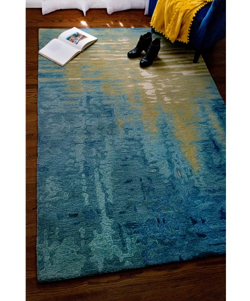 Ocean (9143-04) Abstract Area Rug