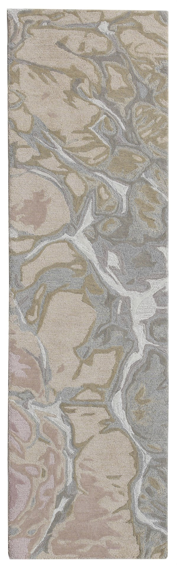 Blush (9146-37) Abstract Area Rug