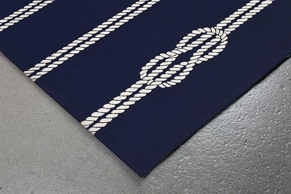 Navy (1636-33) Beach / Nautical Area Rug