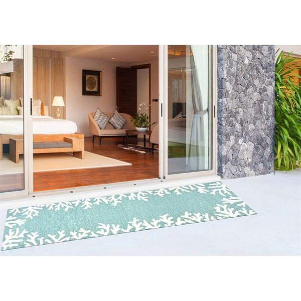 Aqua (1620-04) Outdoor / Indoor Area Rug