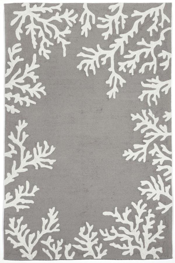 Silver (1620-47) Outdoor / Indoor Area Rug