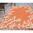 Product Image of Coral, Ivory (1620-17) Outdoor / Indoor Area Rug