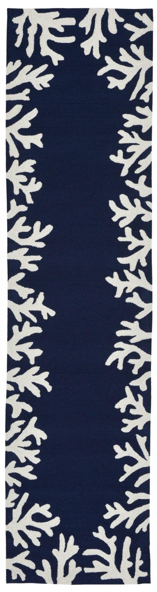 Navy (1620-33) Outdoor / Indoor Area Rug