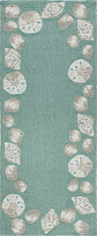 Aqua (1723-04) Outdoor / Indoor Area Rug