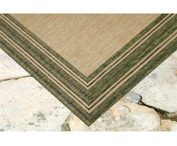 Green Outdoor / Indoor Area Rug