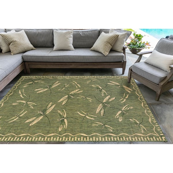 Green (06) Outdoor / Indoor Area Rug