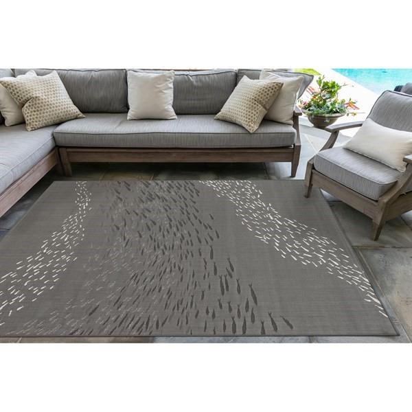 Grey (97) Outdoor / Indoor Area Rug