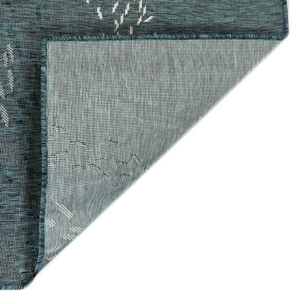 Teal (94) Outdoor / Indoor Area Rug