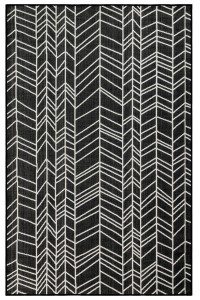 Black Chevron Rugs Direct