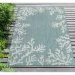 Product Image of Aqua (04) Outdoor / Indoor Area Rug