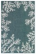 Product Image of Outdoor / Indoor Teal (94) Area Rug